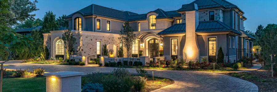Add safety, security and a whole lot of glam with the latest outdoor lighting tech.