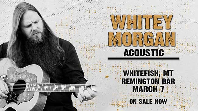 Whitey Morgan Acoustic