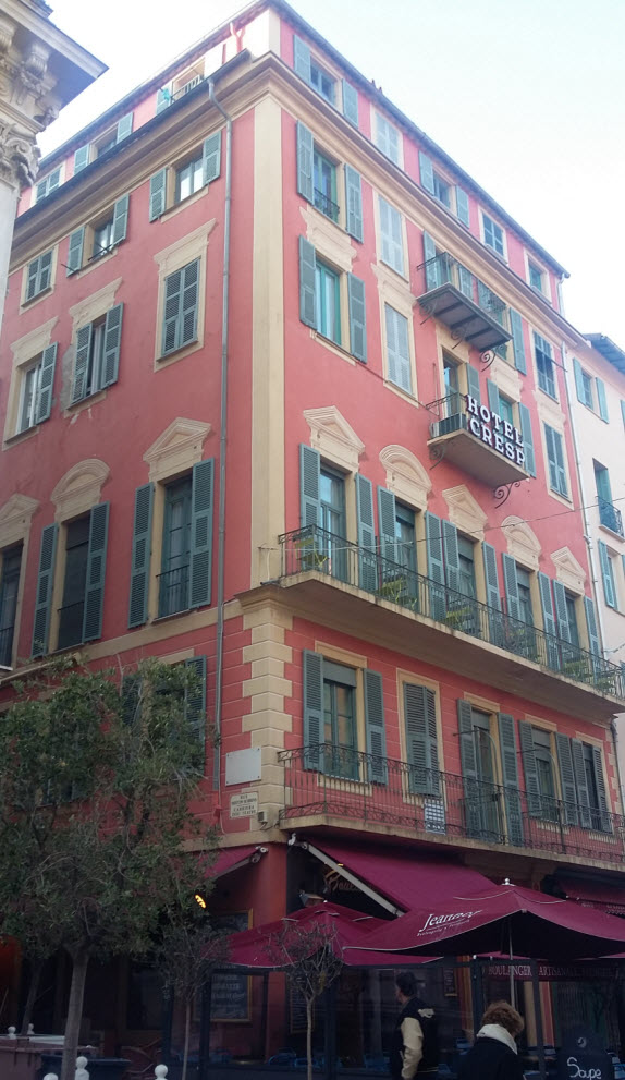 trompe-l'oeil in nice 8 rue Saint-François de Paule