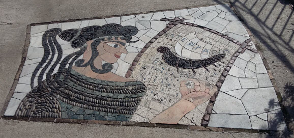 walking tour of public art - odyssey mosaic