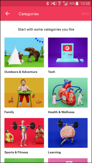 top travel apps - Meetup.com - ease of setup