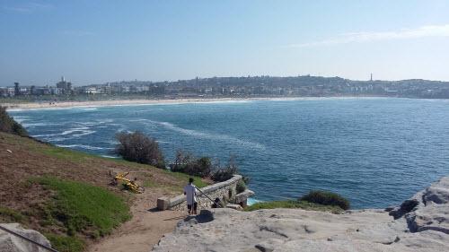 bondi to coogee coastal walk - bondi overlook