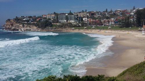 bondi to coogee coastal walk - bronte overlook