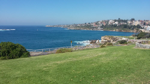 bondi to coogee coastal walk - coogee overlook