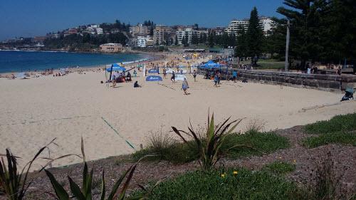 bondi to coogee coastal walk - coogee beach