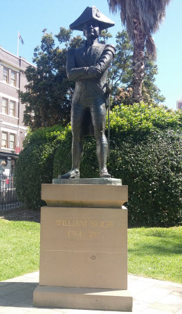 Sydney Harbour walk - Blight statue