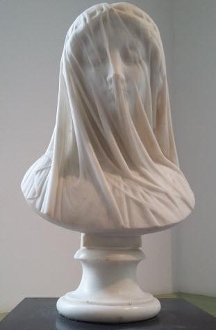 Musee des Beaux-Arts -Femme voile – Le Silence
