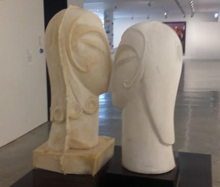 Sydney Harbour walk - Soft Kiss sculpture