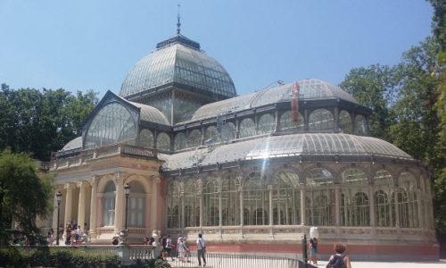 Palacio de Cristal, Retiro Park, Madrid