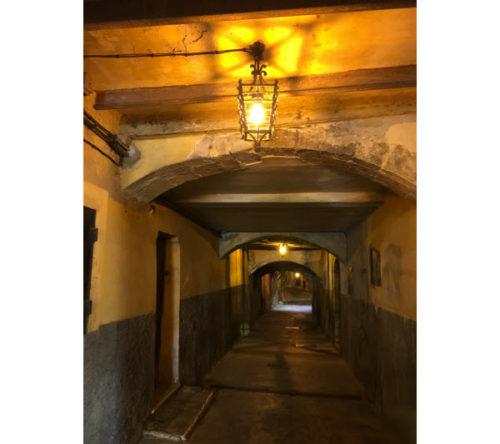 Rue Obscure, Villefranche-sur-mer, France
