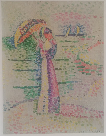 Figure with parasol (1905)