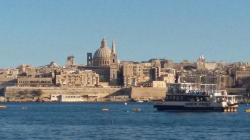 Skyline of Valletta, Malta