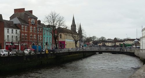 Nano Nagle pedestrian bridge, Cork city center