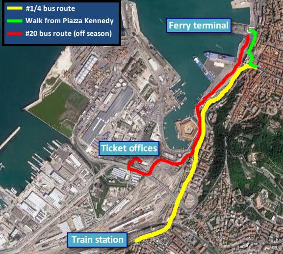 Ancona map