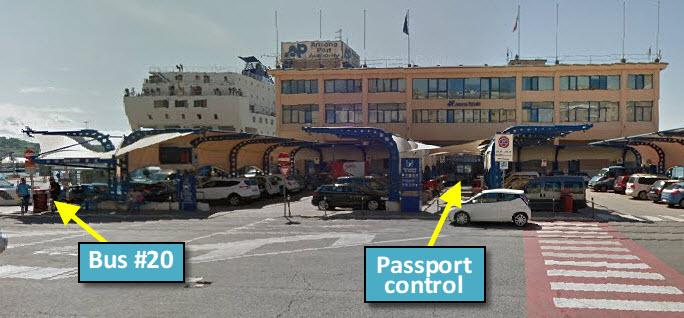 Ferry Terminal, Ancona