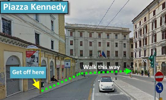 Piazza Kennedy, Ancona