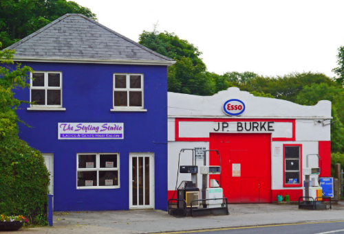 Old Sligo petrol station