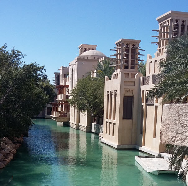 Canal at the Souk Madinat Jumeirah, Dubai