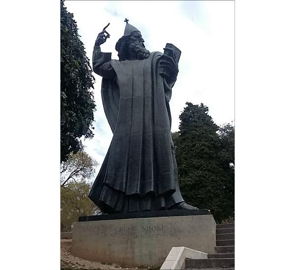 Grgur Ninski Statue, Split, Croatia
