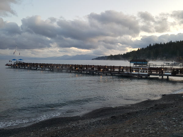 Gar Woods pier, Lake Tahoe