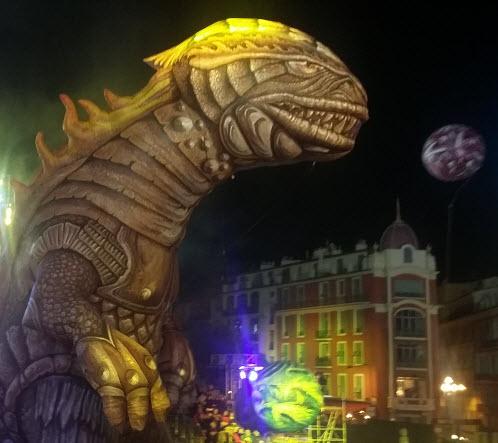 Godzilla, Nice Carnival
