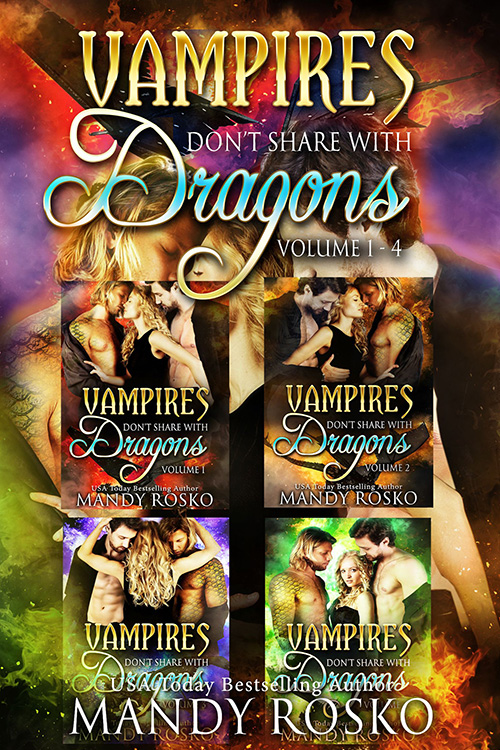 Book Cover: Vampires Don't Share with Dragons