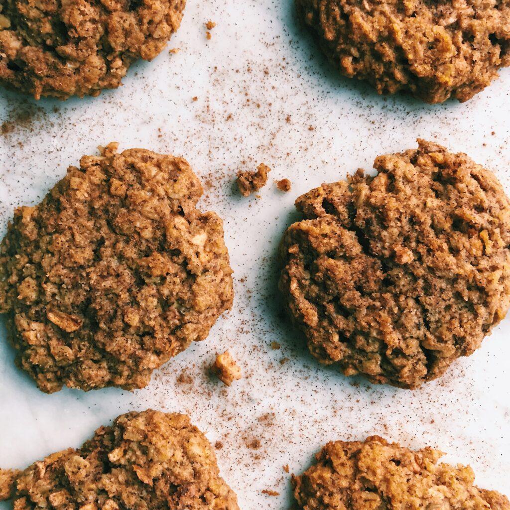 Gluten-Free Apple Oatmeal Breakfast Cookies