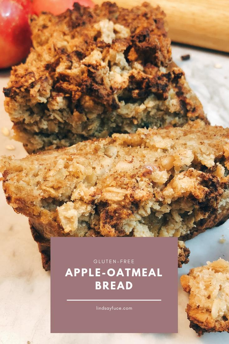 apple oatmeal bread