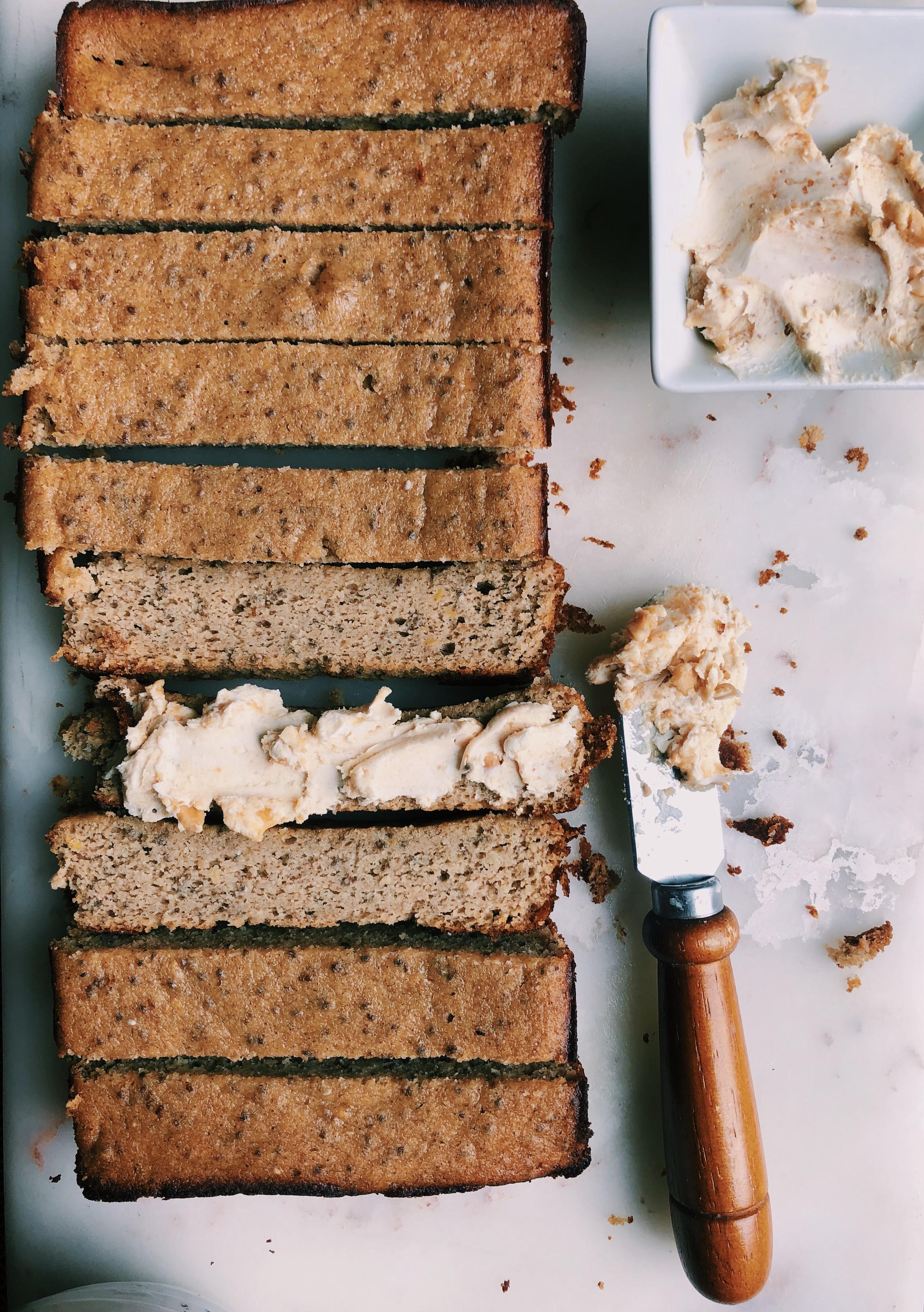 gluten-free peanut butter bread