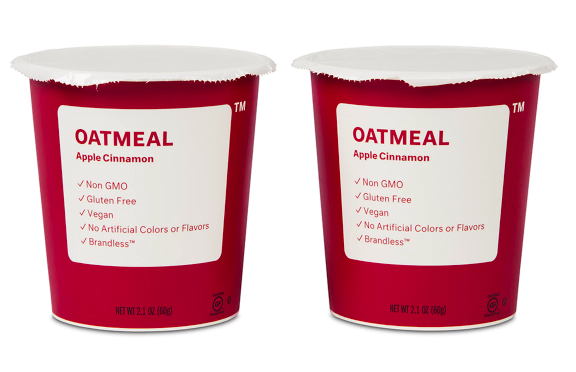 single-serve oatmeal