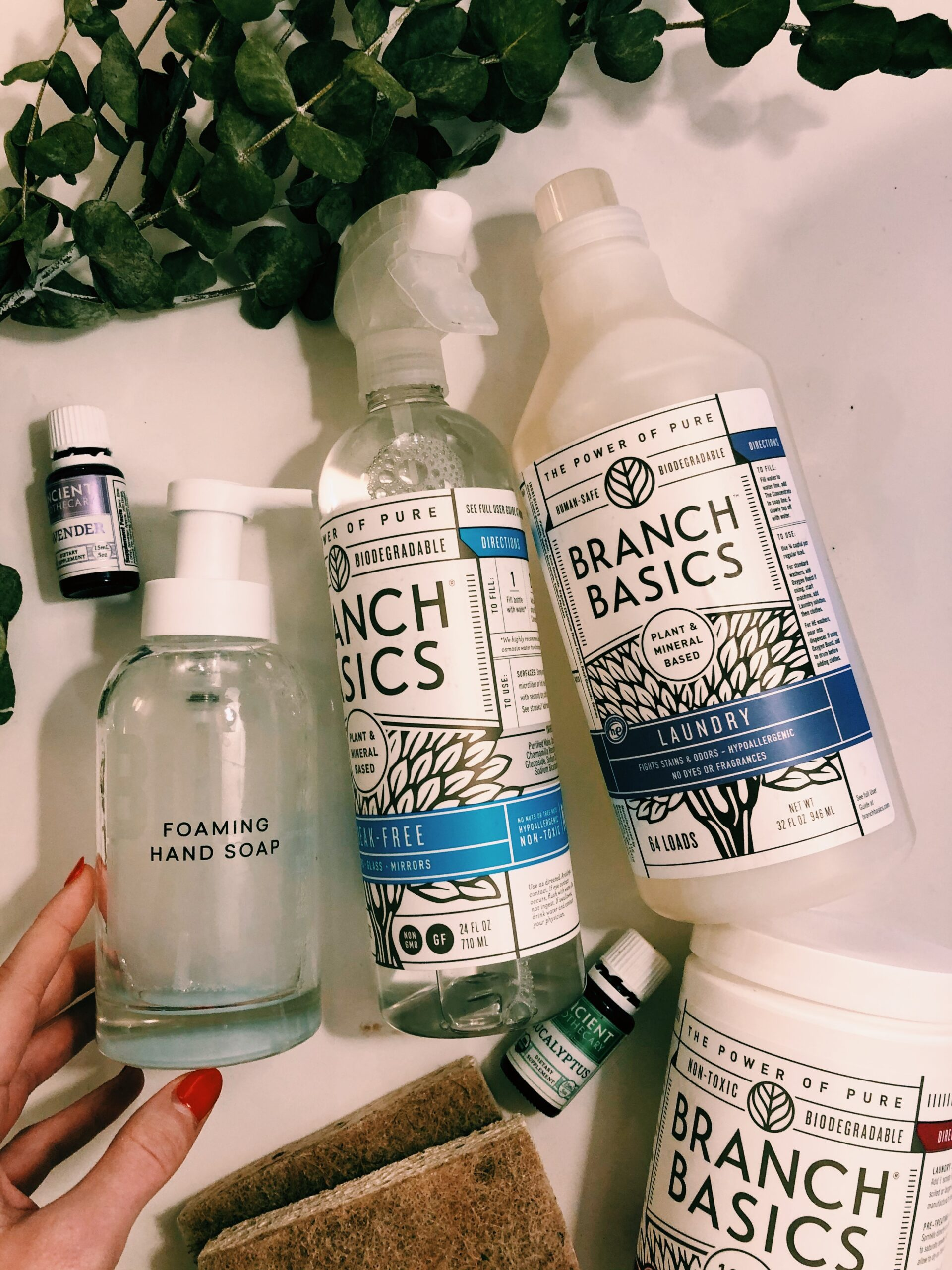 Easy Sustainable Cleaning Swaps, and Why I Avoid Mainstream Cleaning Products