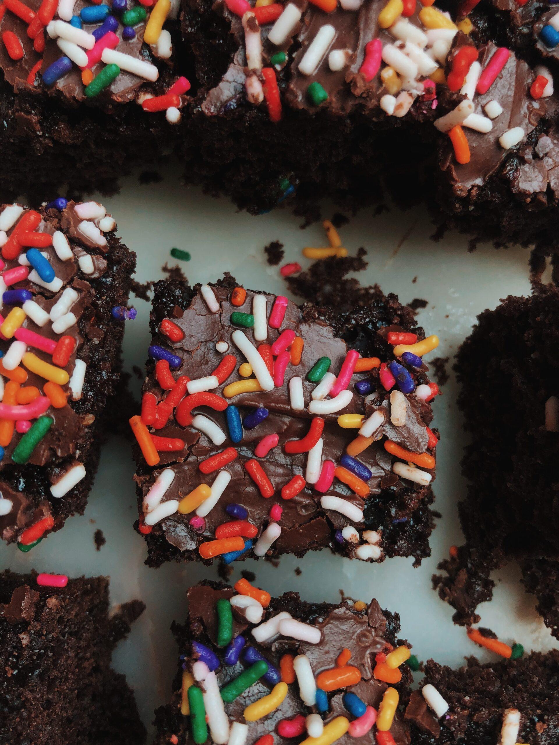gluten-free, sugar-free Lil Debbie brownies.