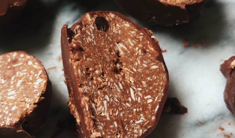Chocolate Coconut Bites (Gluten-Free + Sugar-Free)