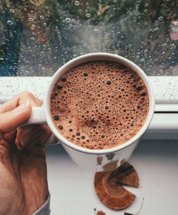 hormone balancing hot chocolate