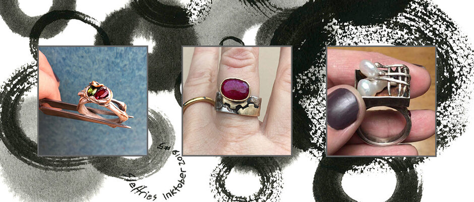 Shannon Jeffries Jewelry Inspired by Art -Rings