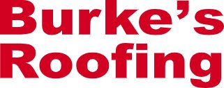 Burke's Roofing Logo Red