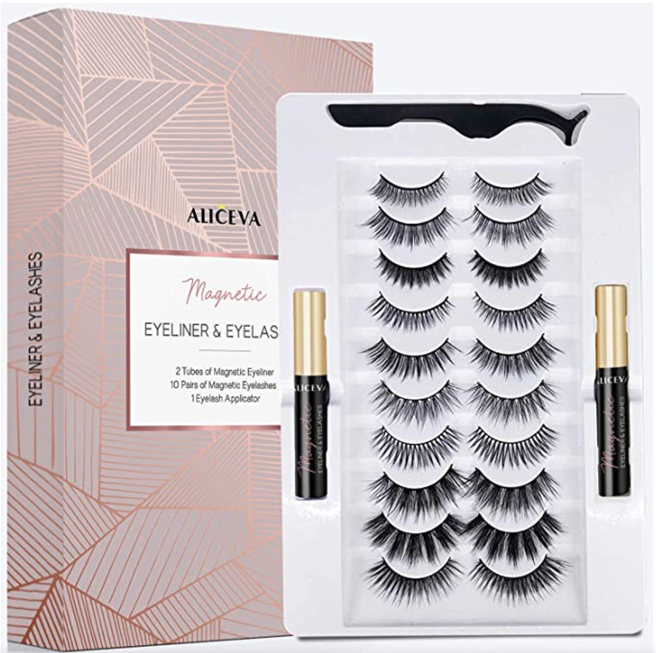 Magnetic Eyeliner and Lashes by Aliceva