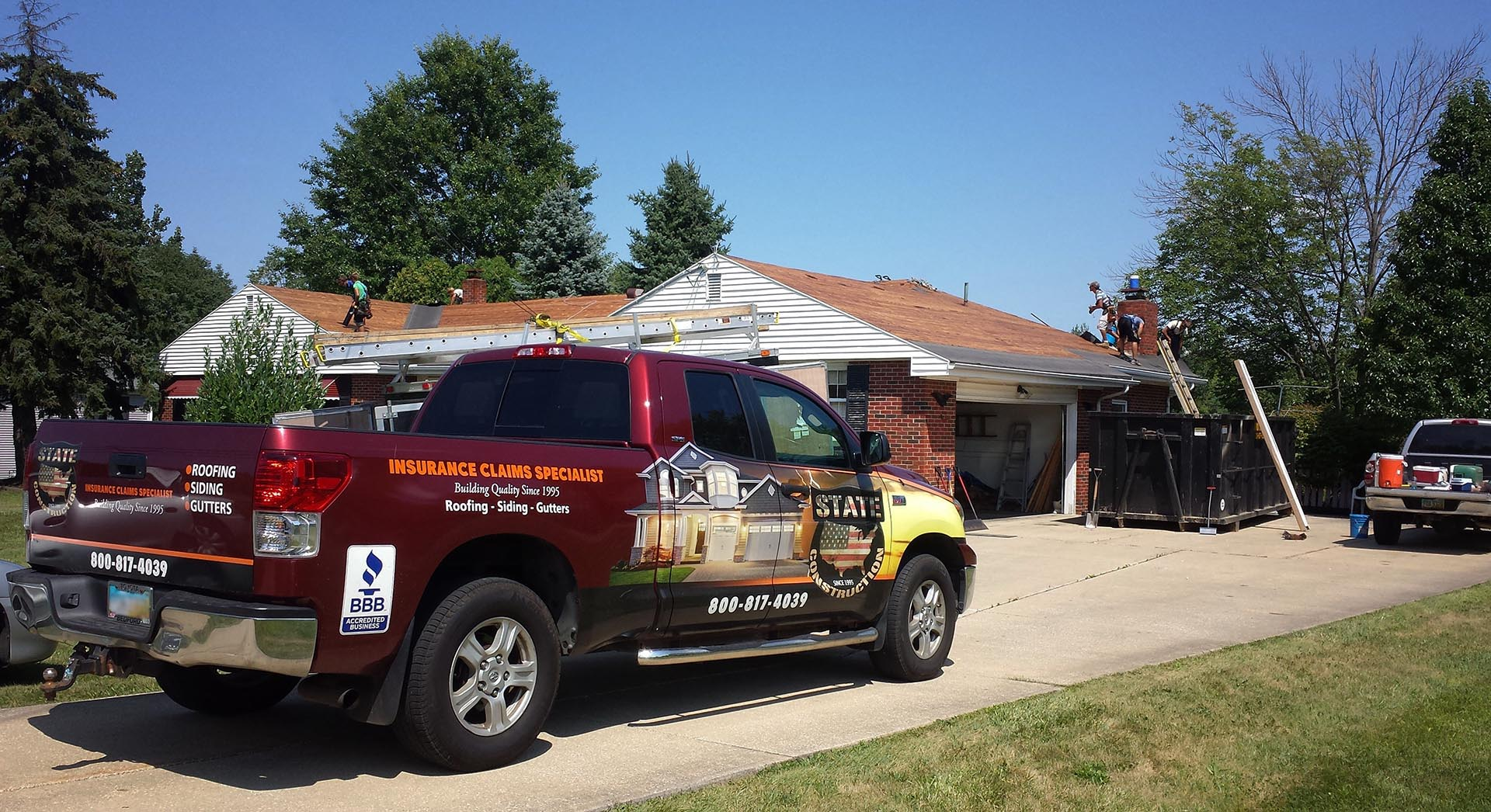 Roofing Repair & Storm Damage Repair Services, Medina, Akron