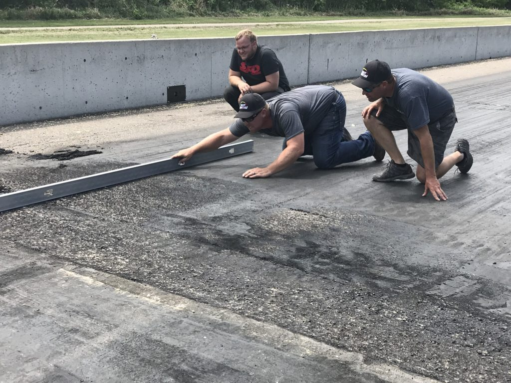 Drag Strip Repair