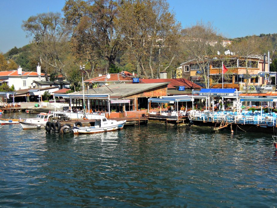 Seafood Restaurants at Anadolu Kavagi