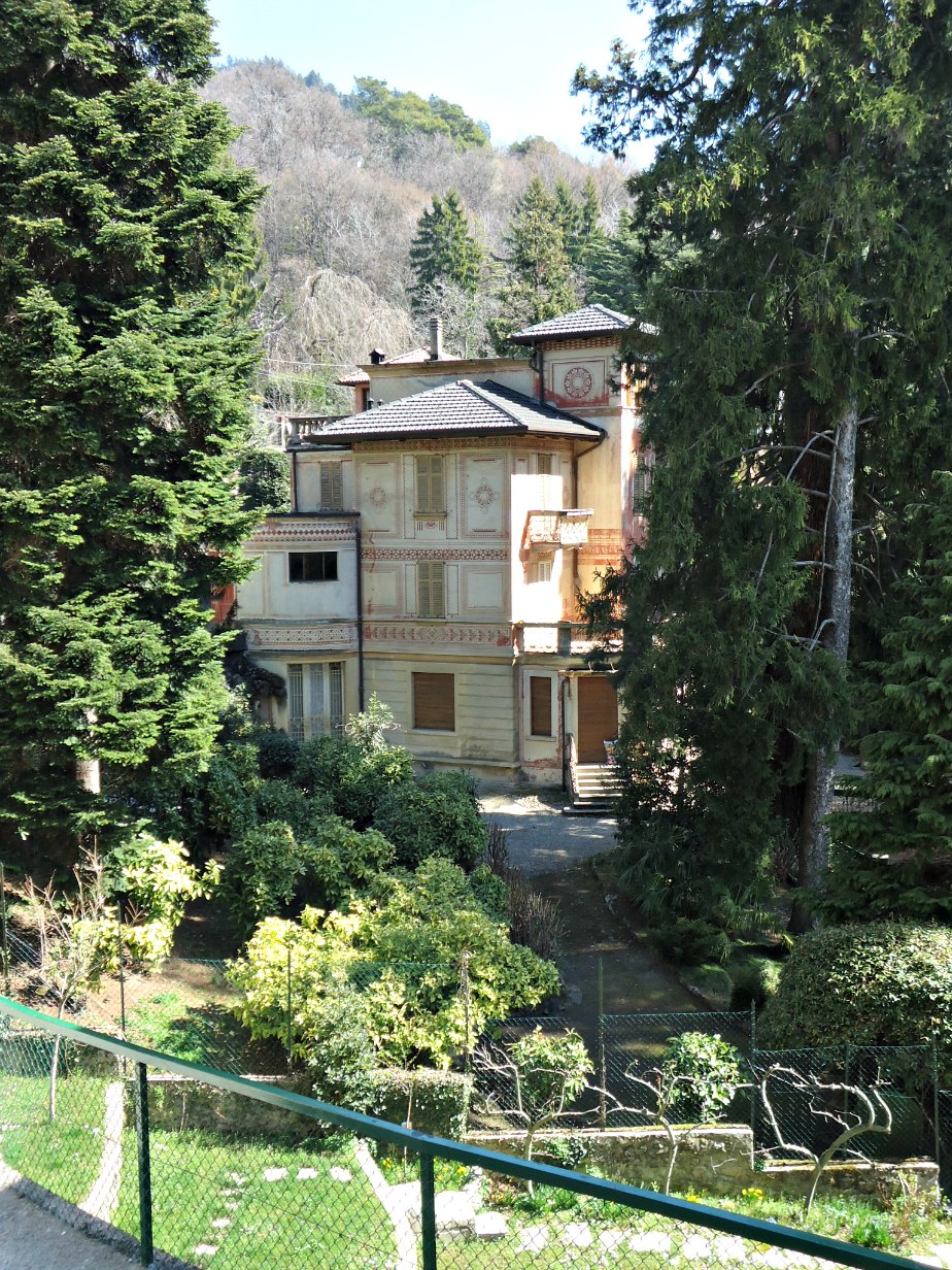 Villa Near Brunate, Como Italy