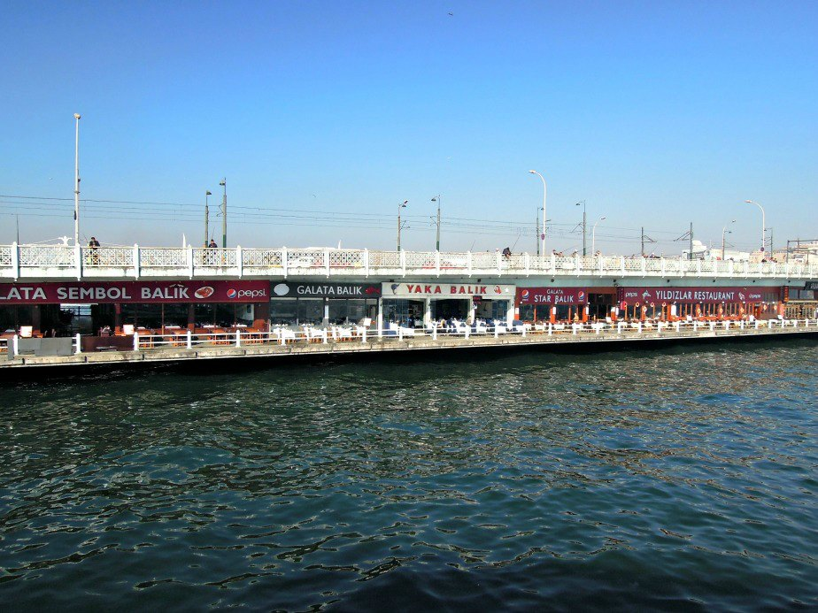 Fish Restaurants Under Galata Bridge