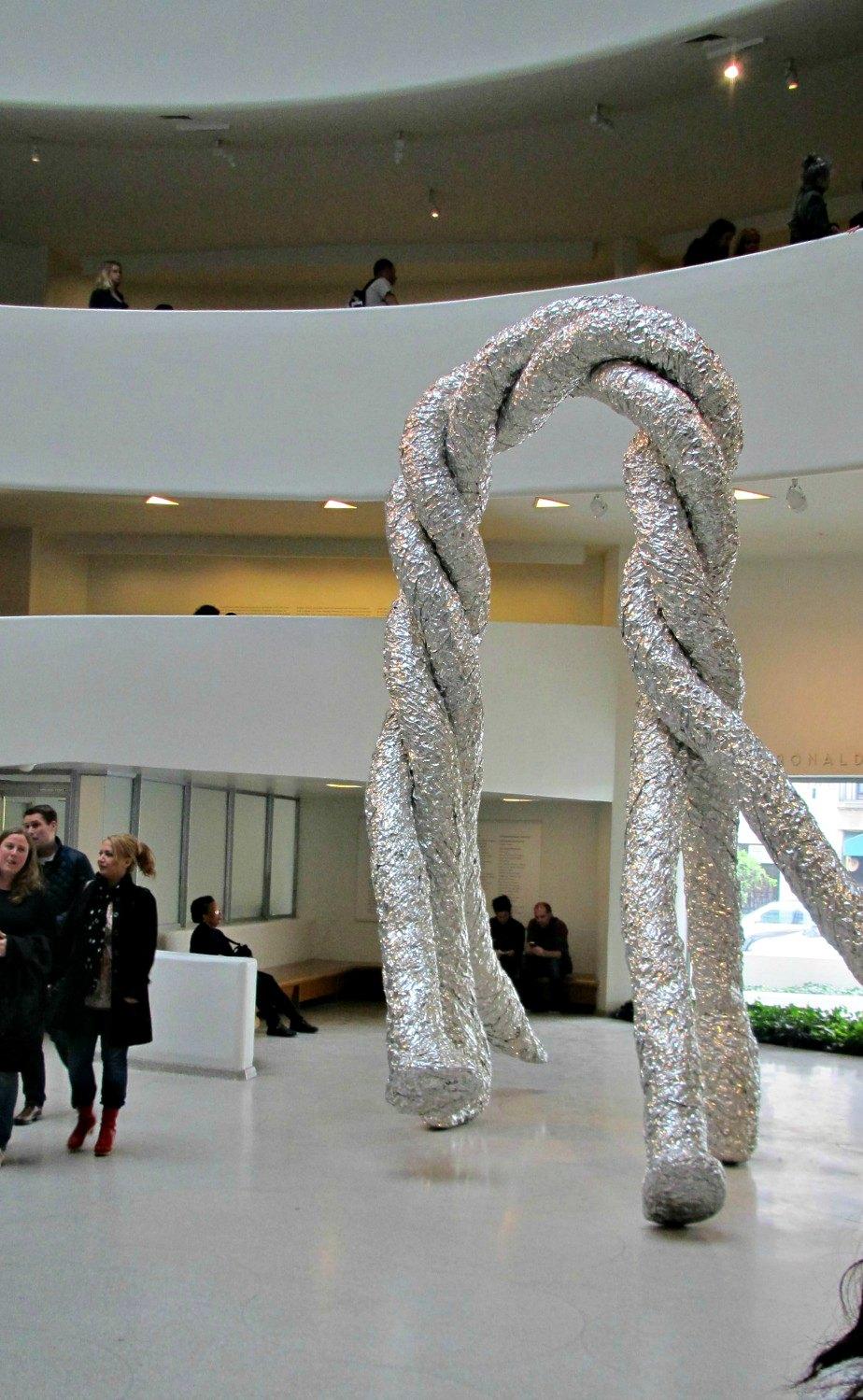 Guggenheim Museum Foyer Artwork