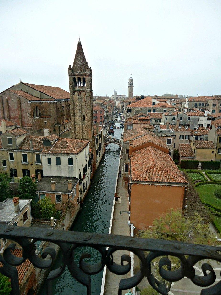 Chiesa di San Barnaba From Ca' Rezzonico Dorsoduro Venice