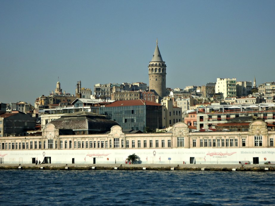 Galata Tower Looks Over Karakoy