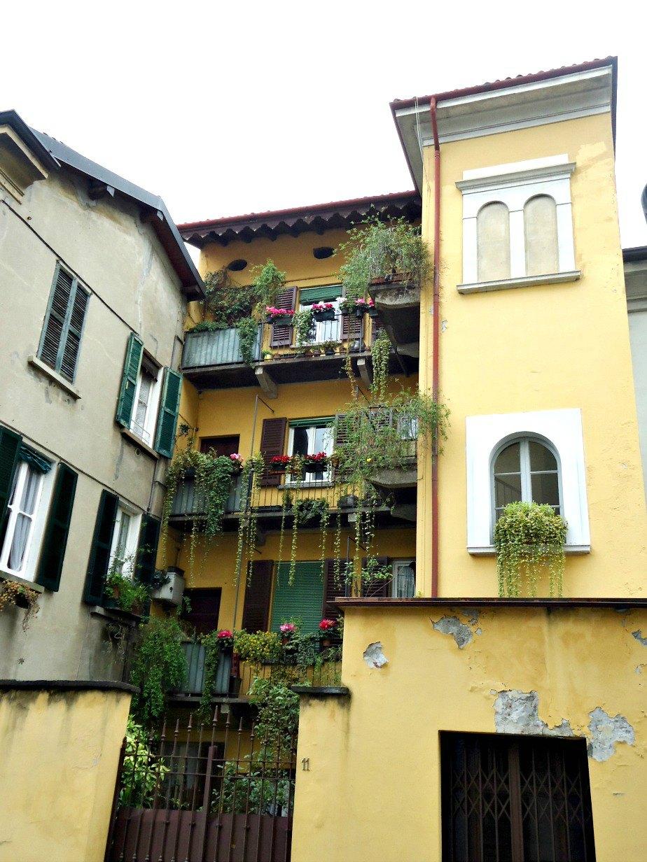 Hanging Garden Cernobbio Lake Como Italy
