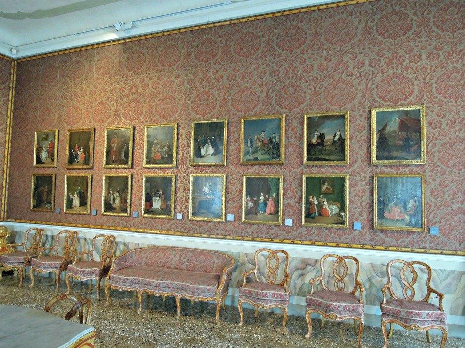 Reception Room at Ca' Rezzonico Dorsoduro Venice