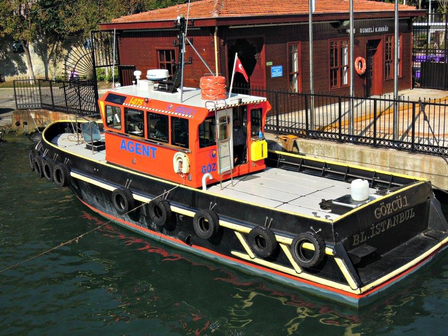 Pilot Boat on the Bosphorus