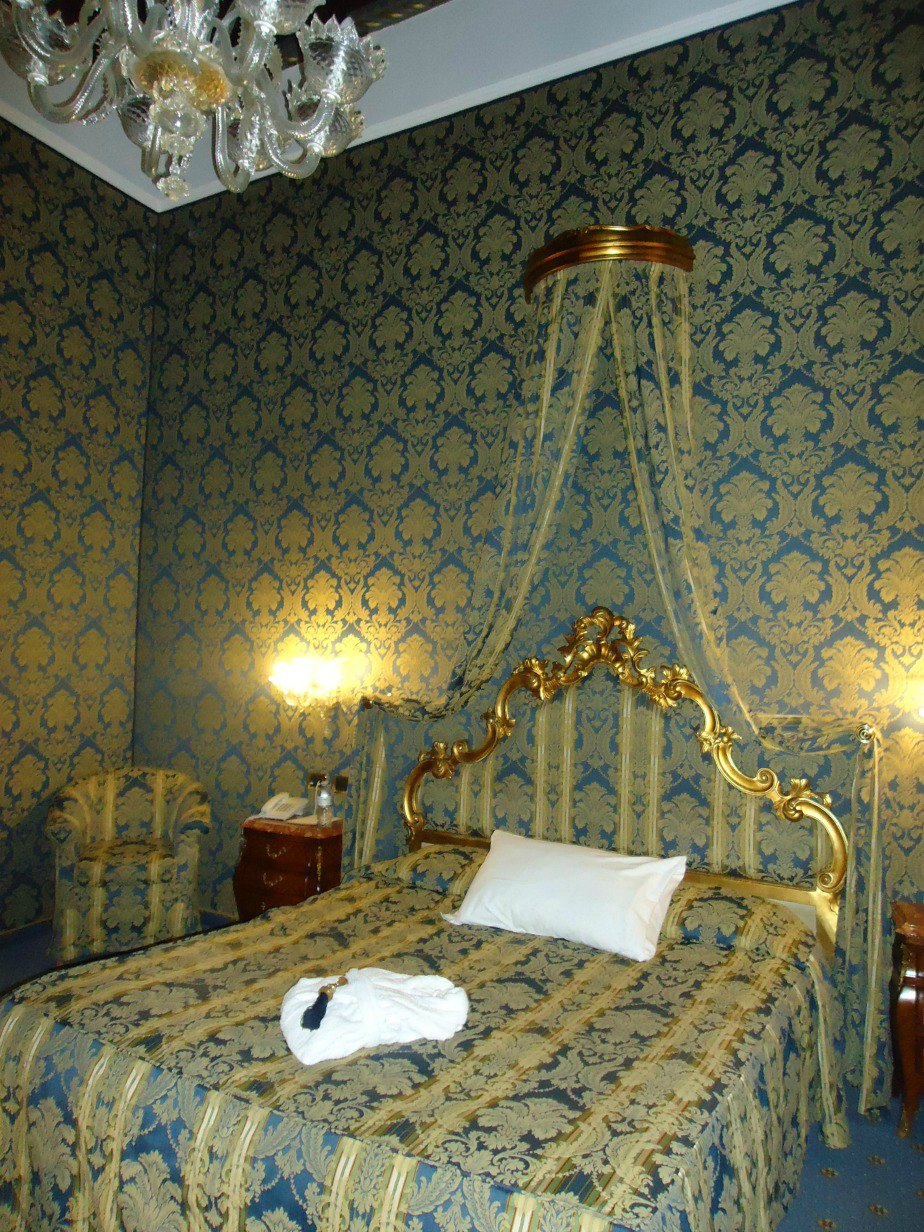 Room at Al Ponte Antico Hotel Grand Canal Venice Italy