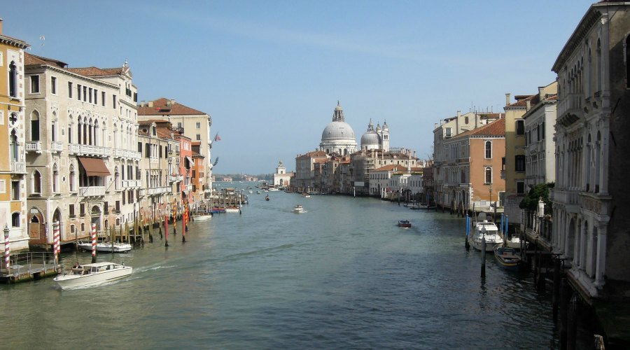 Exit to the Grand Canal